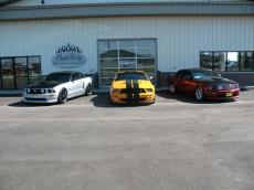 ABS Custom Mustangs