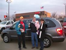BS minivan winners